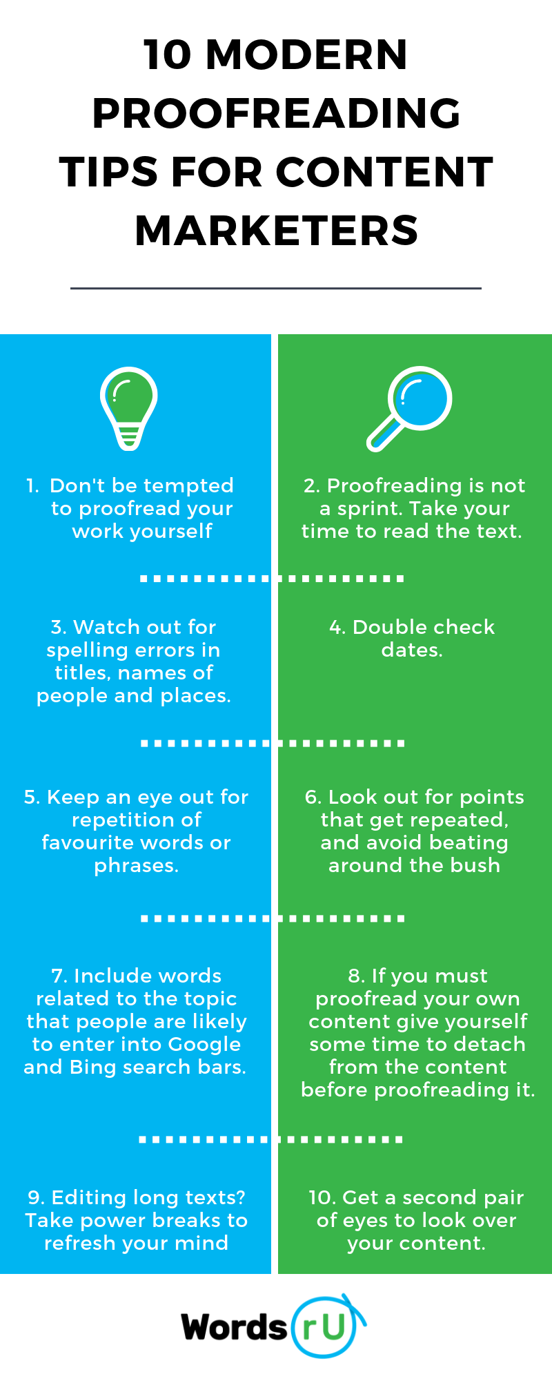 10 proofreading tips
