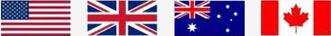 We edit in US, British, Australian and Canadian English