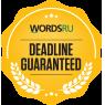 WordsRU - Deadline Guaranteed