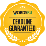 WordsRU - Deadline Guaranteed