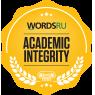 WordsRU - Academic Integrity